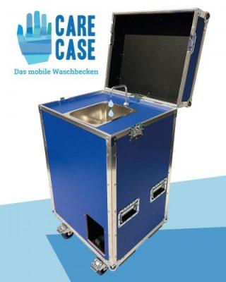 Care Case – Das mobile Handwaschbecken